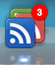 Google Reader Dock icon